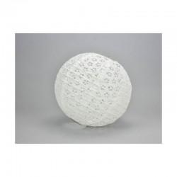 Csipke rizslámpa ø25 cm