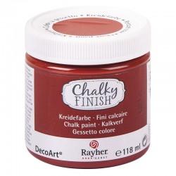 Chalky Finish krétafesték - rozsdabarna 118 ml