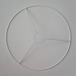Lámpaernyő karika foglalat-gyűrűvel (45 cm)