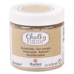 Chalky Finish krétafesték - szürkésbarna 118 ml