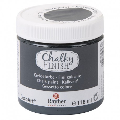 Chalky Finish krétafesték - antracit 118 ml