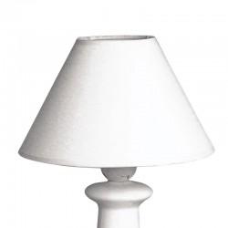 Kúp alakú lámpaernyő - fehér (ø 19,5 cm)