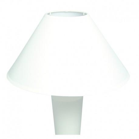 Kerek lámpaernyő - fehér (ø 22,5 cm)