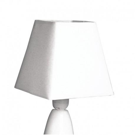 Kerek lámpaernyő - fehér (ø 35 cm)