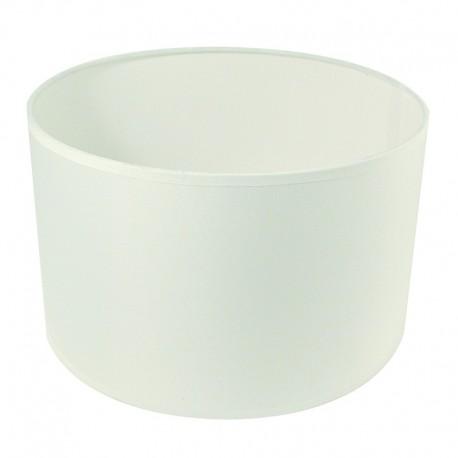 Szögletes lámpaernyő - fehér (25 cm)