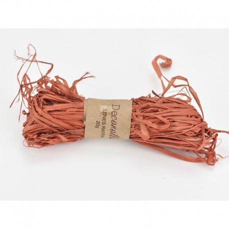 Raffia háncs köteg - narancs (20 g)