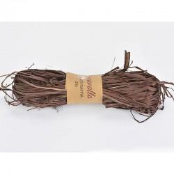 Raffia háncs köteg - barna (20 g)
