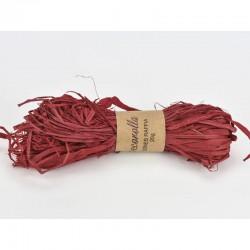 Raffia háncs köteg - piros (20 g)