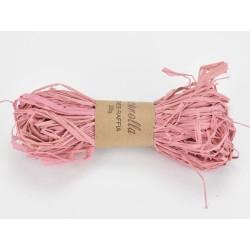 Raffia háncs köteg - rózsaszín (20 g)