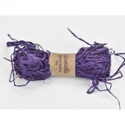 Raffia háncs köteg - lila (20 g)