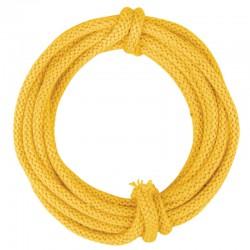 Drótmerevítésű kötött fonal - sárga (3 m)