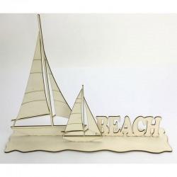 Fa dekoráció - Beach (40 cm)