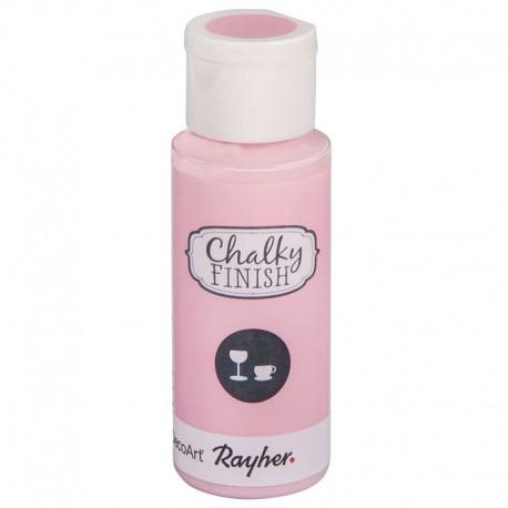 Chalky Finish krétafesték üvegre - rózsaszín 59 ml