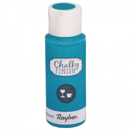 Chalky Finish krétafesték üvegre - lagúnakék 59 ml