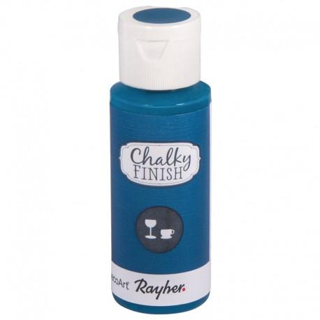 Chalky Finish krétafesték üvegre - égszínkék 59 ml