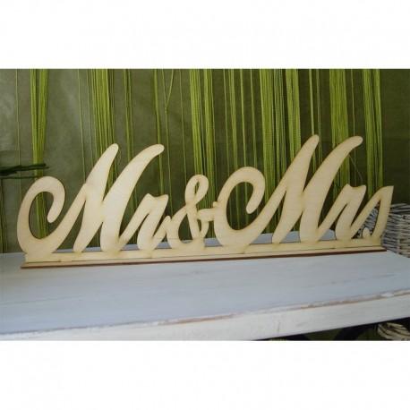 Mr&Mrs, írott talpas (50 cm)