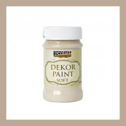 Dekor Paint Soft dekorfesték – cappuccino, 100 ml