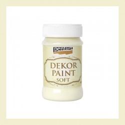 Dekor Paint Soft dekorfesték – elefántcsont, 100 ml