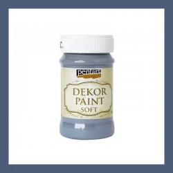 Dekor Paint Soft dekorfesték – indigó, 100 ml