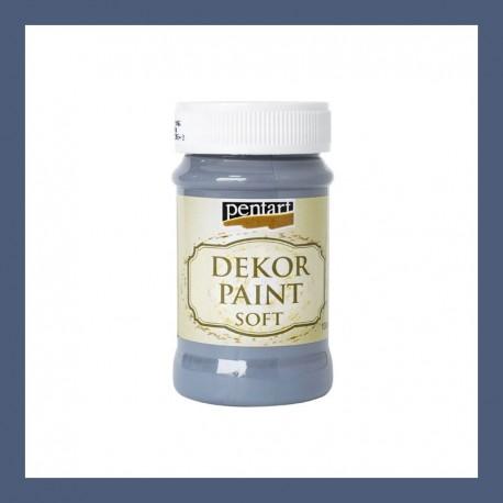 Dekor Paint Soft dekorfesték – indigó, 100 ml