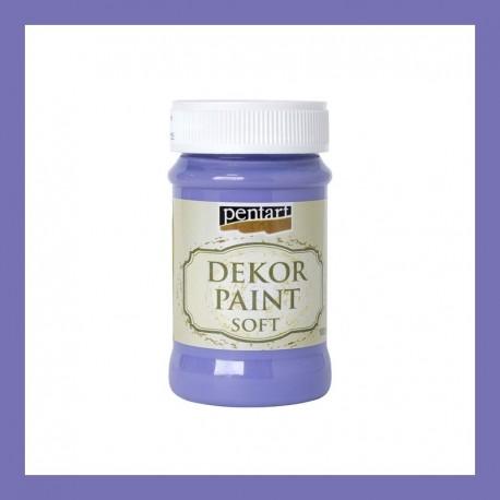 Dekor Paint Soft dekorfesték – lila, 100 ml