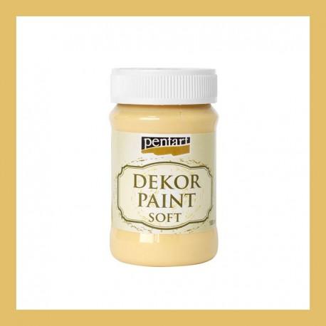 Dekor Paint Soft dekorfesték – mandarin, 100 ml