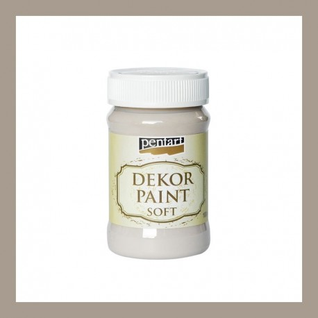 Dekor Paint Soft dekorfesték – mandula, 100 ml