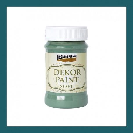 Dekor Paint Soft dekorfesték – méregzöld, 100 ml