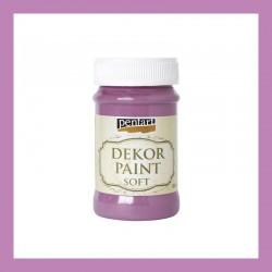 Dekor Paint Soft dekorfesték – szeder, 100 ml