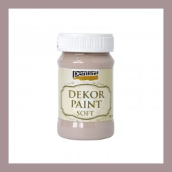 Dekor Paint Soft dekorfesték – tejcsokoládé, 100 ml