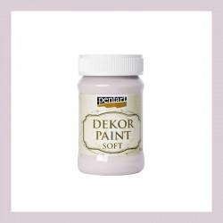 Dekor Paint Soft dekorfesték – viktoriánus rózsaszín, 100 ml