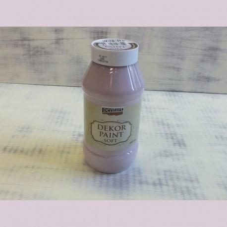 Dekor Paint Soft dekorfesték – viktoriánus rózsaszín, 1000 ml
