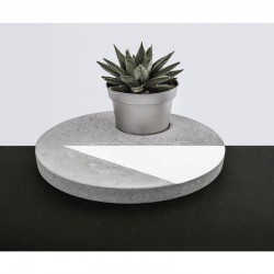 Öntőforma betonhoz: kör (25 cm)