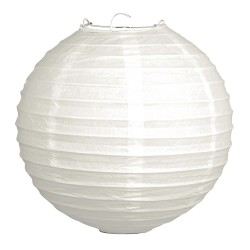 Fehér rizslámpa ø30 cm