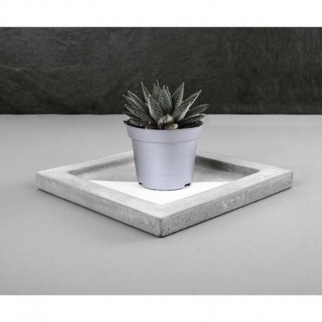 Öntőforma betonhoz: négyzet (25 cm)