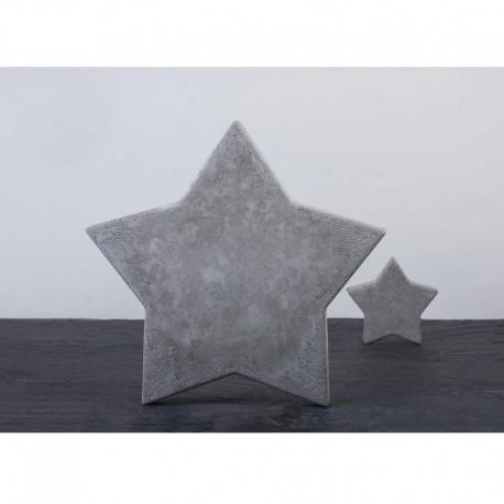 Öntőforma betonhoz: csillag (28 cm)