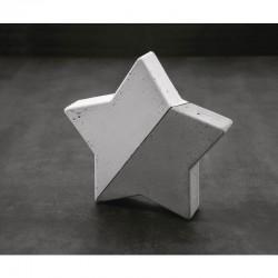 Öntőforma betonhoz: csillag (21,5 cm)